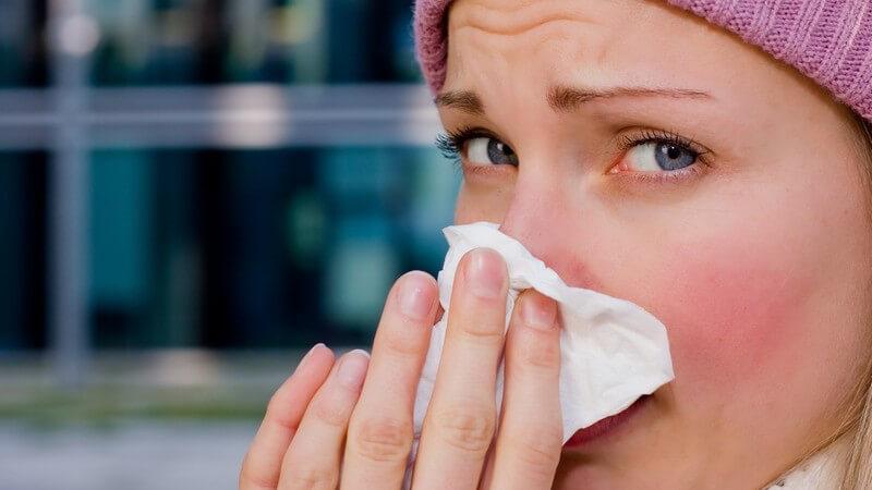 Die Entstehung einer Erkältung und wie man sie erkennen und behandeln kann
