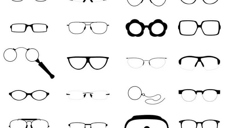 Aufbau und Funktion verschiedener Brillen- und Gläserarten