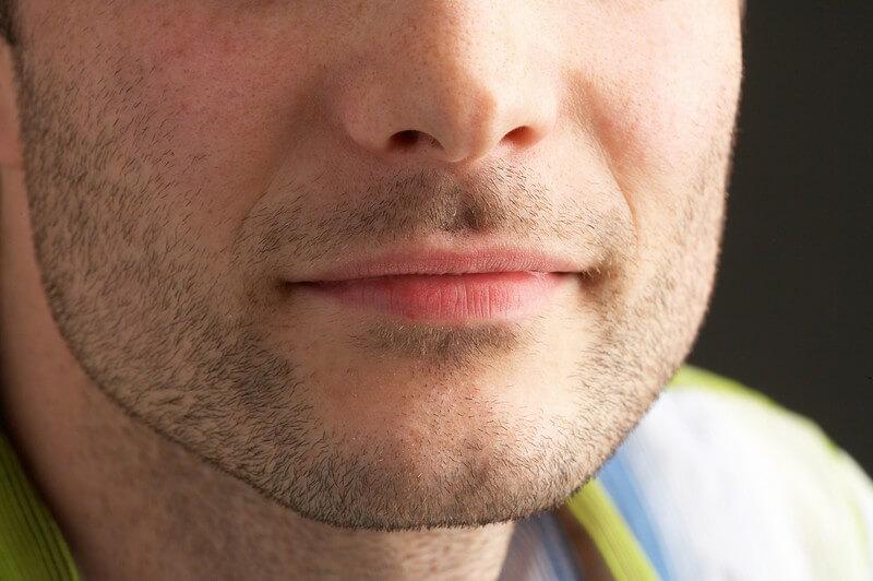 Gesicht frau kantiges Ein markantes