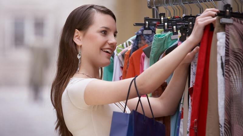 Auch bei Mode aus zweiter Hand möchte man Qualität für sein Geld bekommen