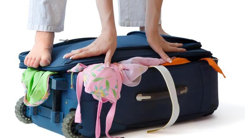 Eine durchdachte Packliste gestaltet die letzten Tage vor dem Urlaubsantritt stressfreier