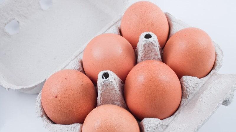Eier lassen sich im rohen Zustand nur einfrieren, wenn man sie aufschlägt - wir zeigen, worauf es des Weiteren ankommt