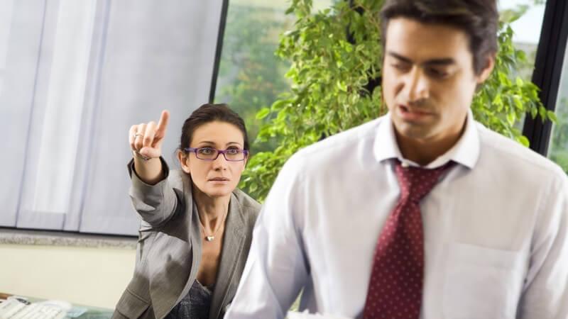 So wird der Büroalltag mit einem Narzissten erträglicher
