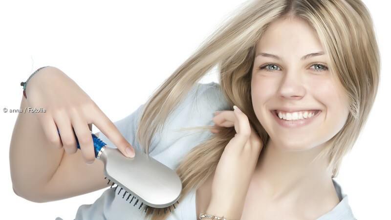 Blonde strähnchen verschiedene Beste Frisuren