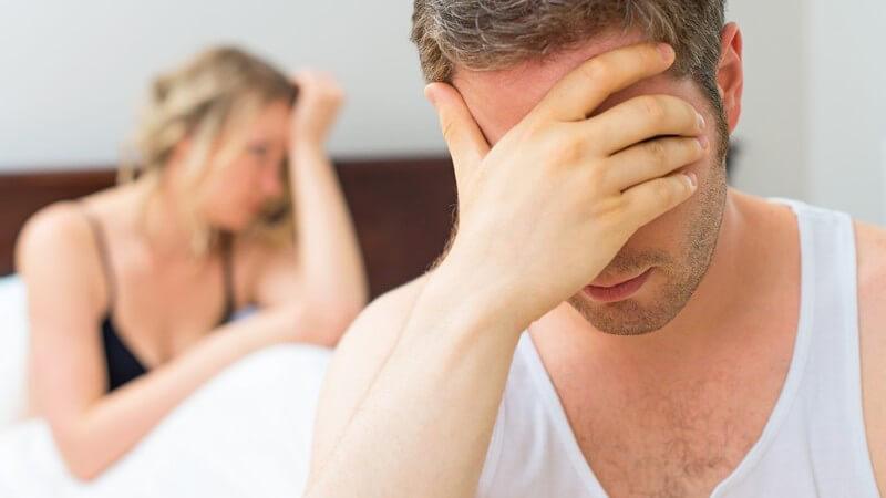 Alkohol, Stress und Depressionen wirken sich senkend auf den Hormonspiegel aus