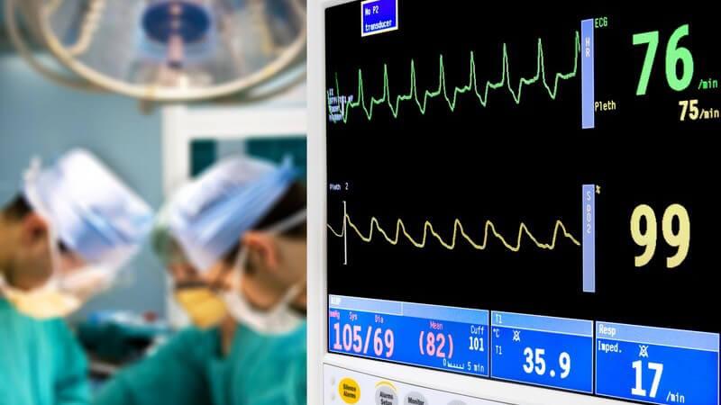 Ziel und Zweck sowie mögliche Risiken einer elektrophysiologischen Untersuchung