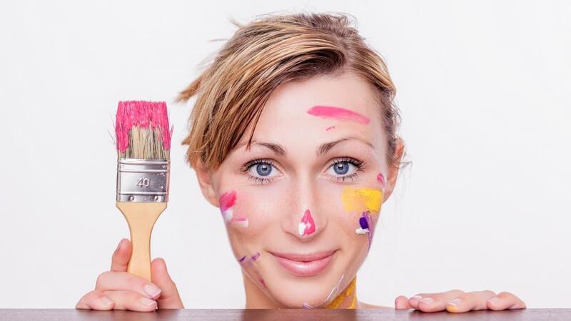 Bestimmte Wunschfarbe - Tipps zur gewünschten Farbmischung