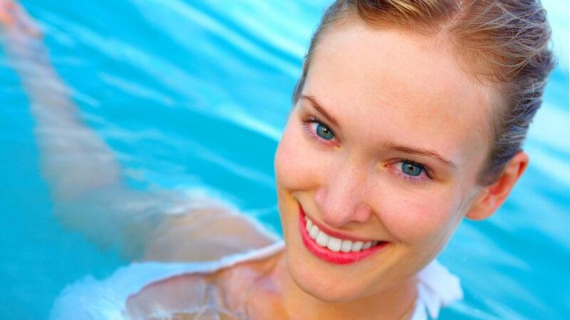 Ist Schwimmen und Tauchen mit Kontaktlinsen möglich?