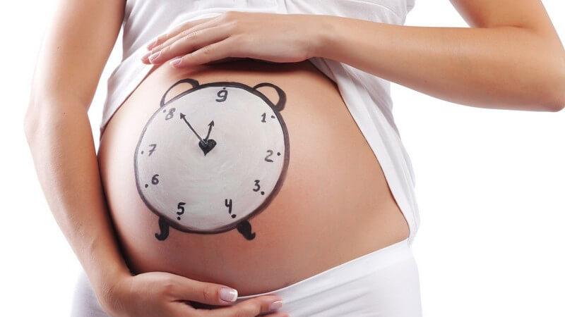 Probleme beim Überschreiten des Geburtstermins