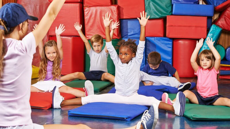 Über das Sportangebot für Kinder in Fitness-Studios