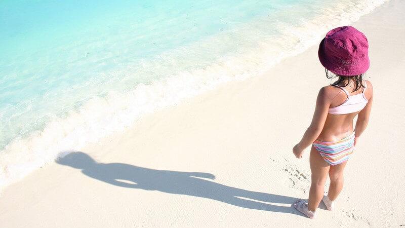 Der Eigenschutz der Haut ist bei Babys und Kindern noch nicht vollständig entwickelt und bedarf optimalen Sonnenschutz