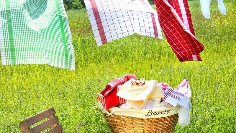 Mit unseren Tipps und Hinweisen spart Ihre Großfamilie Zeit und Geld bei der alltäglichen Wäschepflege
