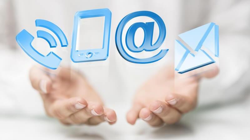 Der Aufbau unterschiedlicher Arten von Geschäftsbriefen