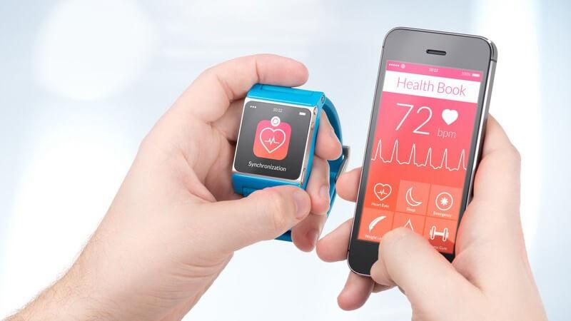 Wearables, Gesundheits-Apps und Co - Technische Hilfsmittel beim Sport