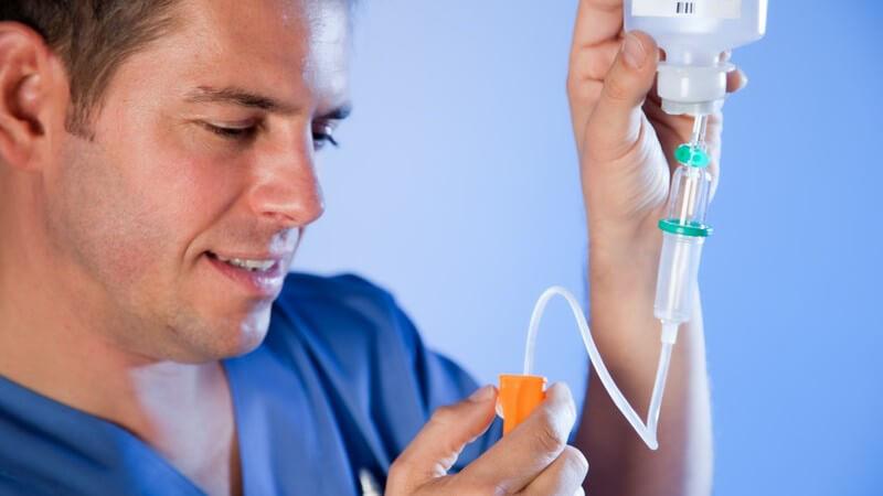 Infusionstherapie mit hochdosiertem Vitamin C