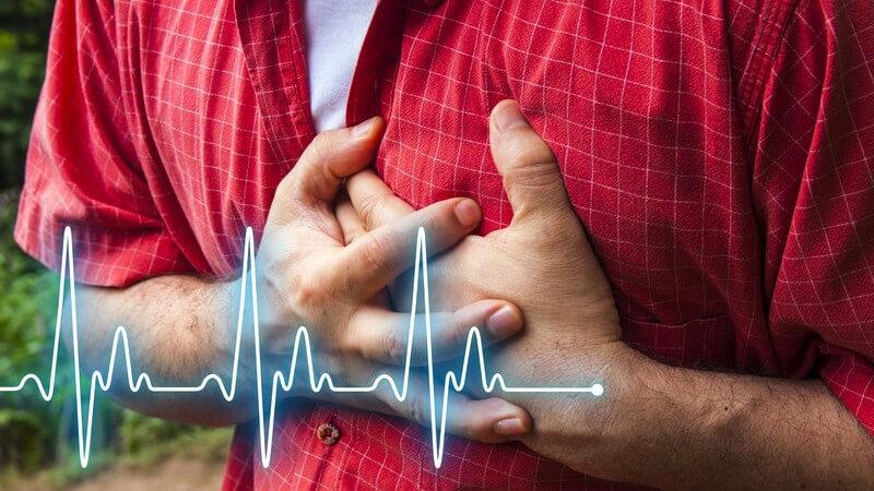 Ein schwerer atrioventrikulärer Block kann zu einem verlangsamten Herzschlag führen