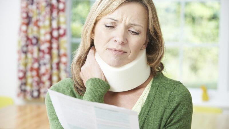 Halsorthese zur Stabilisierung und Schmerzlinderung im Halswirbelsäulenbereich