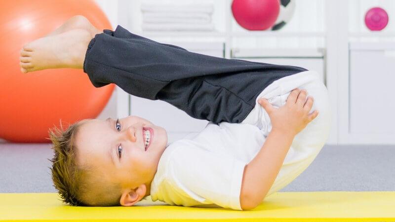 Eignet sich Yoga schon für Kinder?