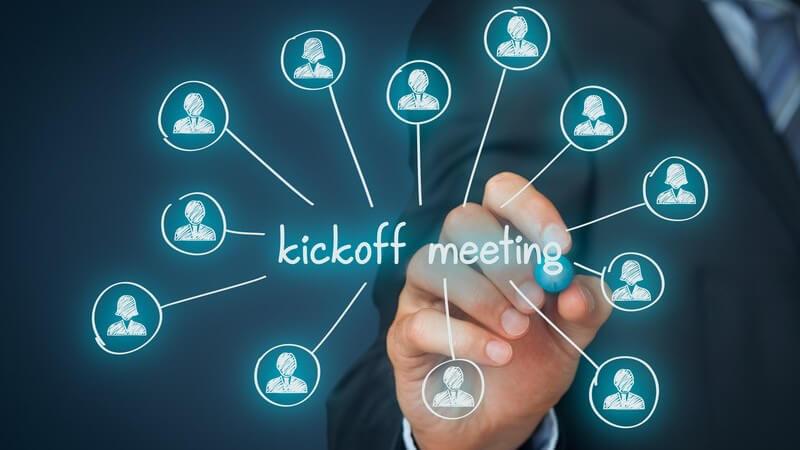 Wissenswertes zum Kick-off-Meeting