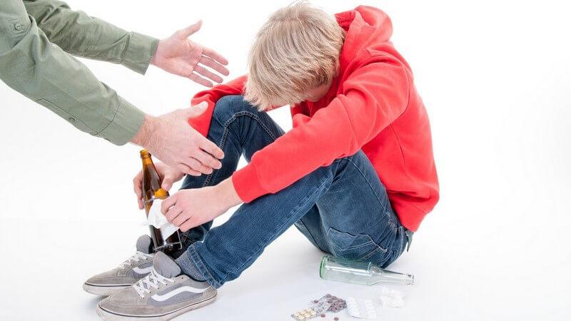 Was tun bei Alkohol- und Drogenkonsum in der Pubertät?