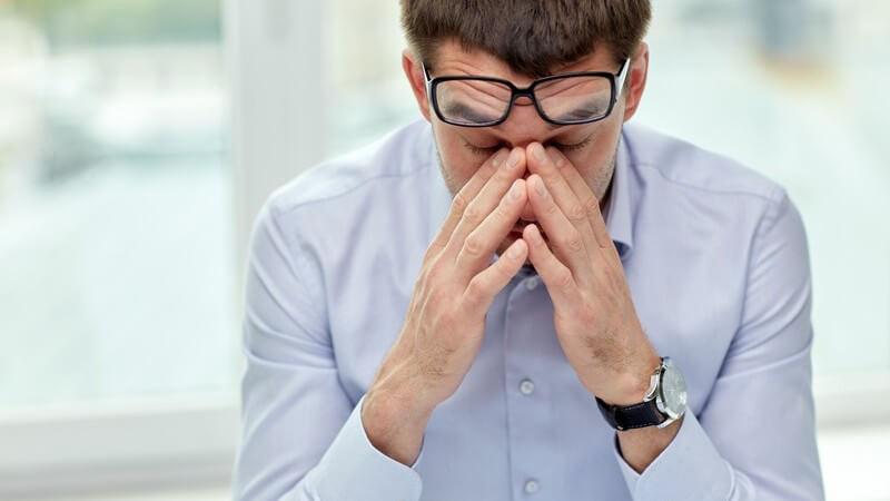 Das so genannte Flimmerskotom verschwindet in der Regel nach 20 bis 30 Minuten wieder