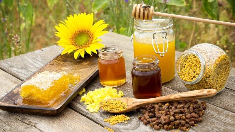 Dieser Honig hat ein sehr kräftiges Aroma
