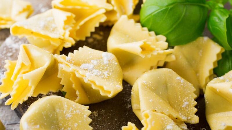 Ravioli lassen sich auch als Dessert verwenden