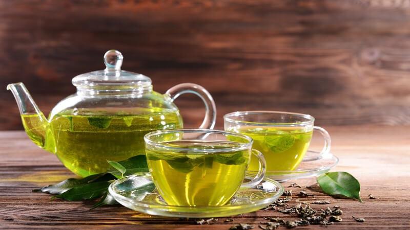 Je nach Ziehzeit kann der Tee unterschiedlich wirken