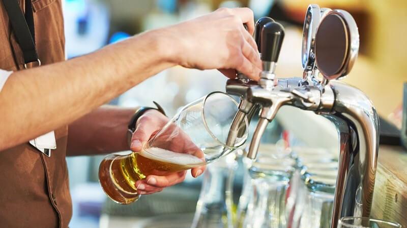 Bei Lagerbieren handelt es sich um unterschiedliche Biersorten