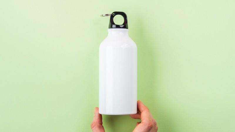Trinkflasche aus Aluminium