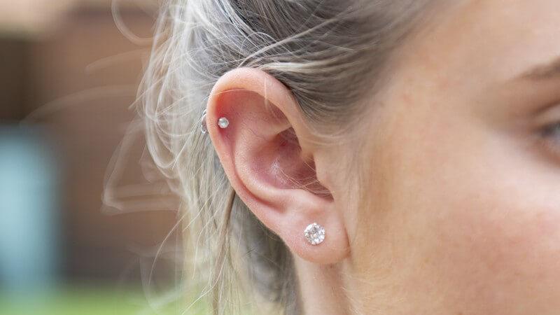 Wissenswertes zum Helix Piercing