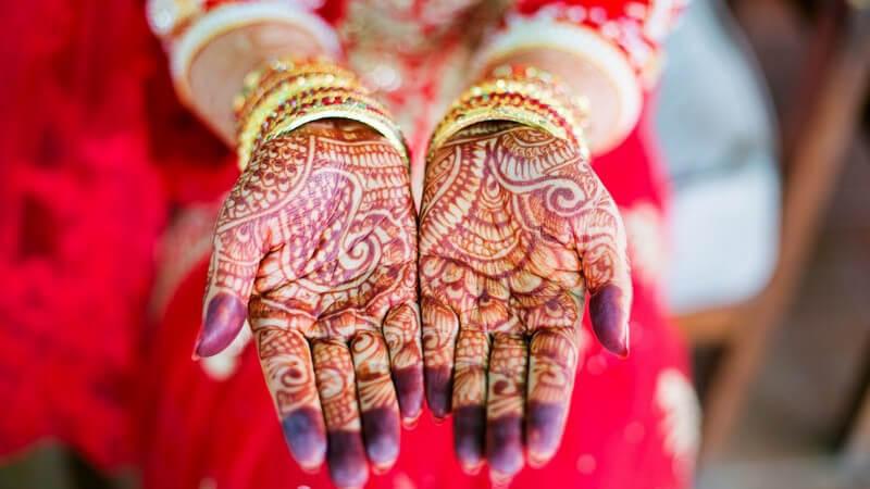 Interessantes zu den Haaren indischer Frauen und Männer