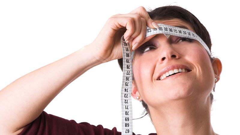 Messung des Kopfumfangs