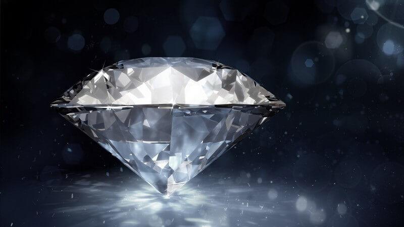Der Diamant gilt als teuerster Edelstein der Welt und findet nicht nur als Schmuckstück Verwendung