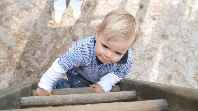 Die kindliche Entwicklung in einem Alter von 3 bis 3,5 Jahren