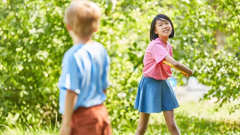 Die kindliche Entwicklung in einem Alter von 5,5 bis 6 Jahren