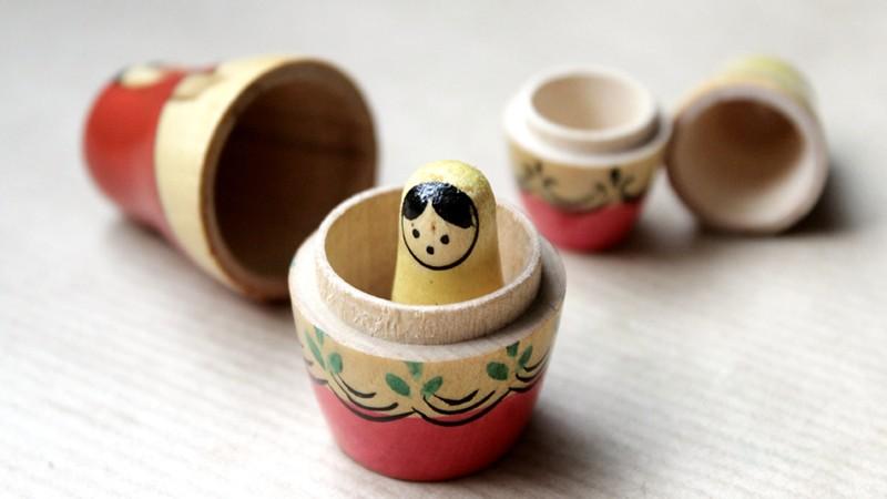 Matrjoschka-Puppe aus Holz
