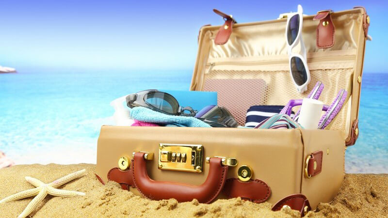 """Regeln und Ziel der Kinderspiele """"Ich packe meinen Koffer"""" und """"Begriffe sammeln"""""""