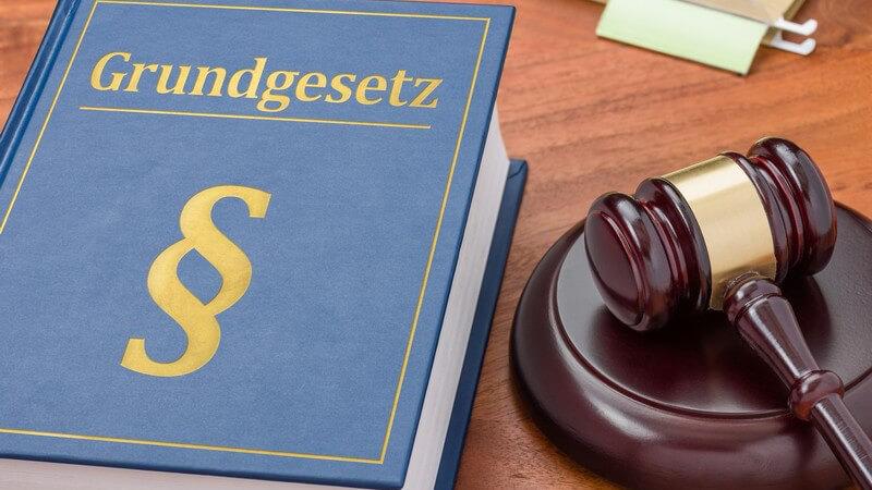Wissenswertes zu verfassungsrechtlichen Grundlagen