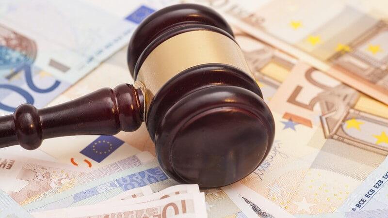Wissenswertes zur Geldstrafe