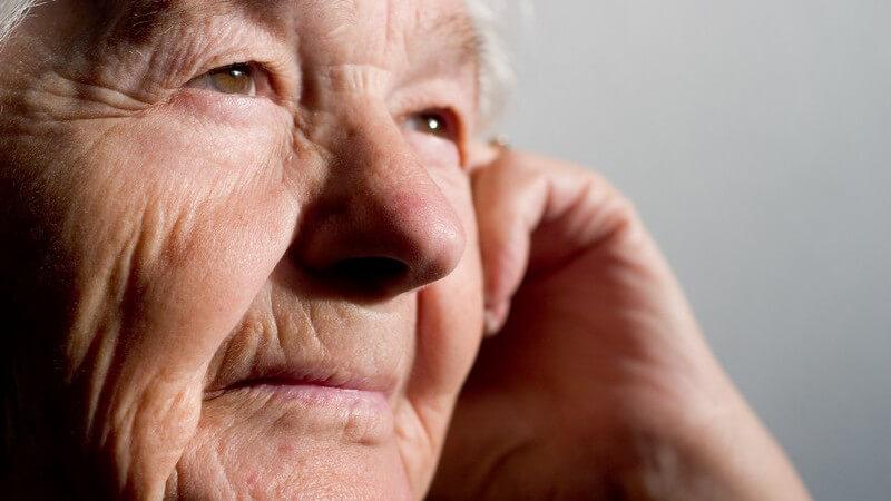 Schwierigkeiten, die mit dem Älterwerden einhergehen