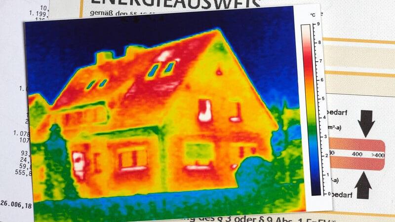 Beim Energiesparhaus wird auf ein möglichst kosten- und verbrauchseffizientes Energieverhalten geachtet