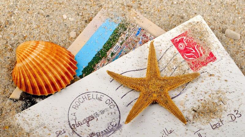 Porto, Gewicht und Größe für Postkarten und Standardbriefe