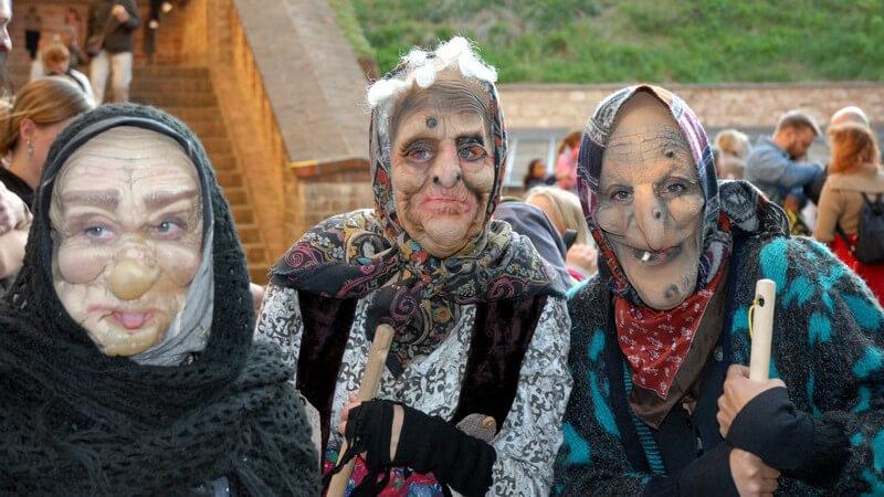 """Über den Brauch des Hexenbrennens - beliebte Veranstaltungen des """"Tanz in den Mai"""" sind auf die Walpurgisnacht zurück zu führen"""