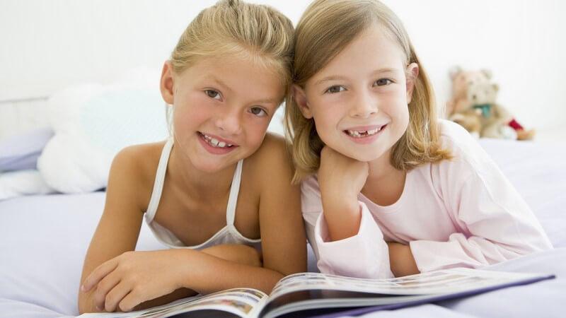 Die Bedeutung von Kinderbüchern für die kindliche Entwicklung - Wärme und Geborgenheit durch das Vorlesen oder gemeinsame Lesen mit dem Kind