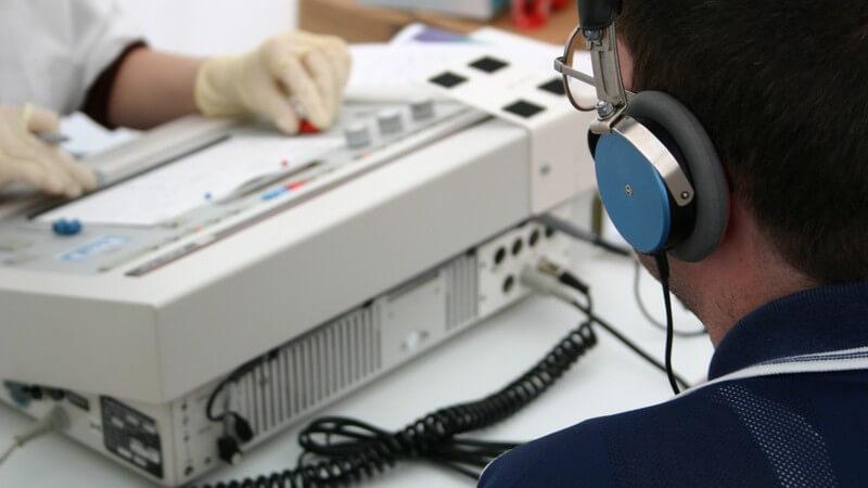 Funktion und Durchführung der Audiometrie zur Untersuchung der Hörorgane und des Hörvermögens