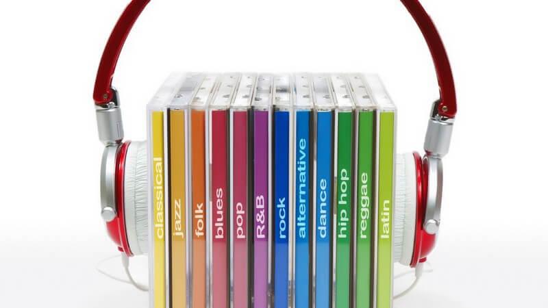Aufbewahrung von CDs im CD-Regal