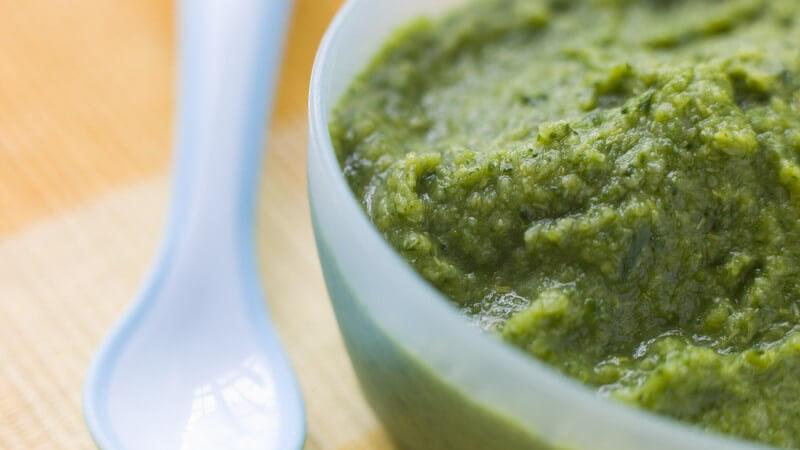 Der richtige Zeitpunkt für Gemüsebrei - Wie kann man diesen den Kindern schmackhaft machen?