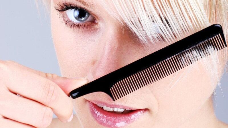 Das sollten Sie beachten, wenn Sie Ihre Haare auf eine einheitliche Länge oder verschiedene Längen kürzen möchten