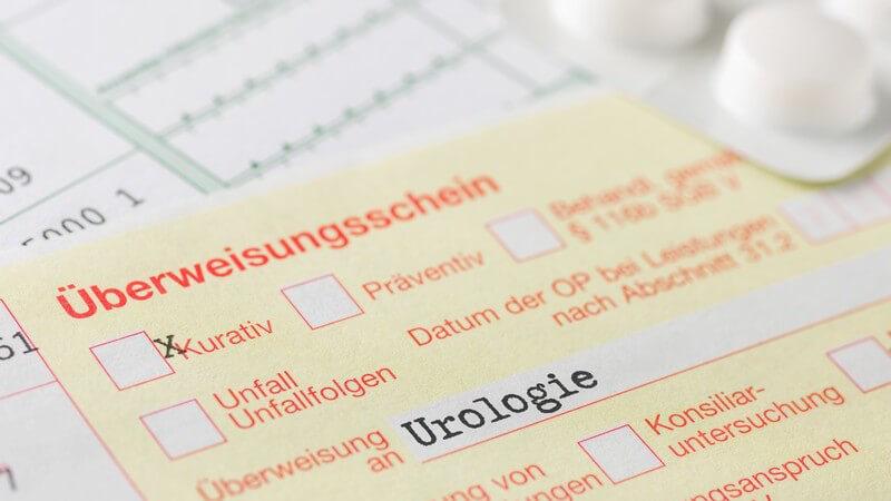 Funktion und Durchführung sowie mögliche Komplikationen der Prostatabiopsie zur Entnahme von Gewebeproben